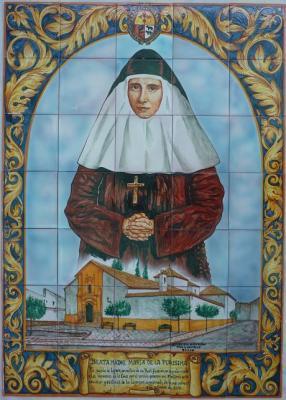 Lopera rinde homenaje a las hermanas de la cruz jos - Copia de azulejos ...