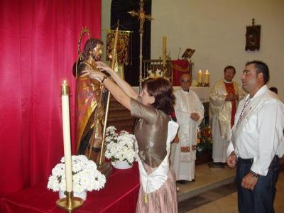 San Roque ya es Alcalde Honorario de Lopera.