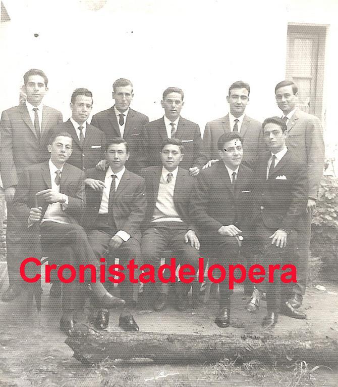 Algunos Loperanos de la Quinta del año 1965