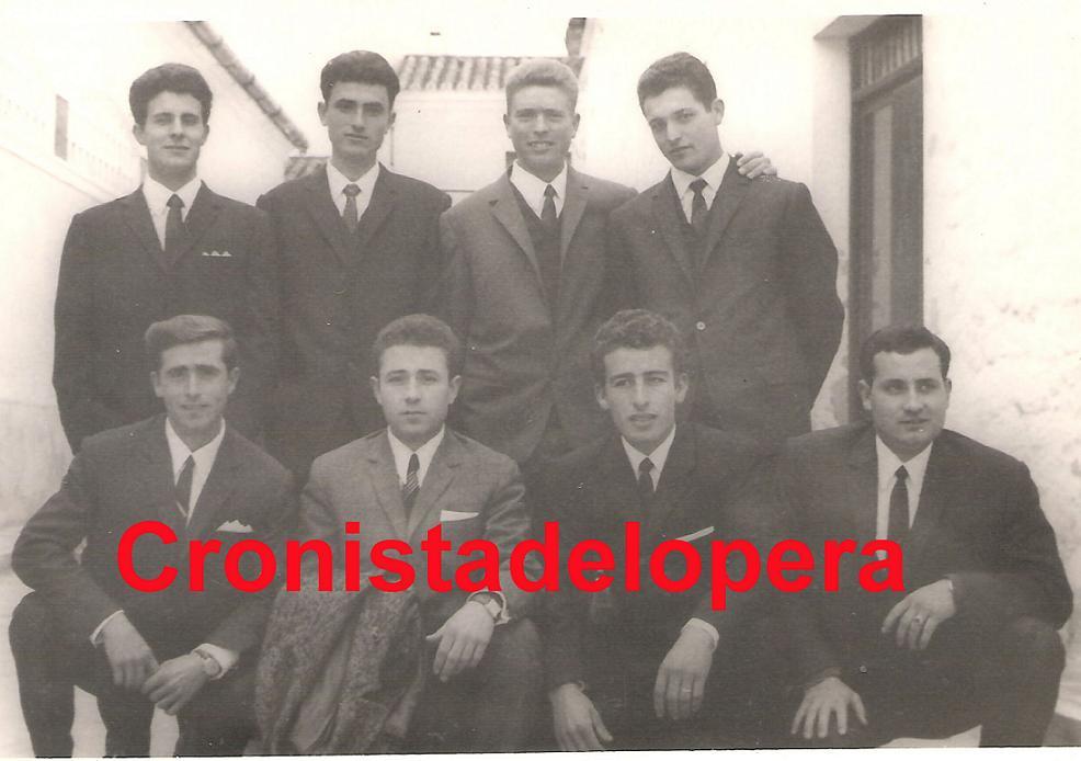 Algunos Loperanos de la Quinta del año 1966