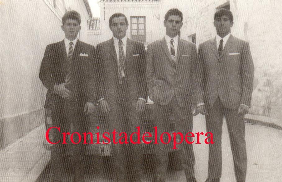 Grupo de Quintos de Lopera del año 1968