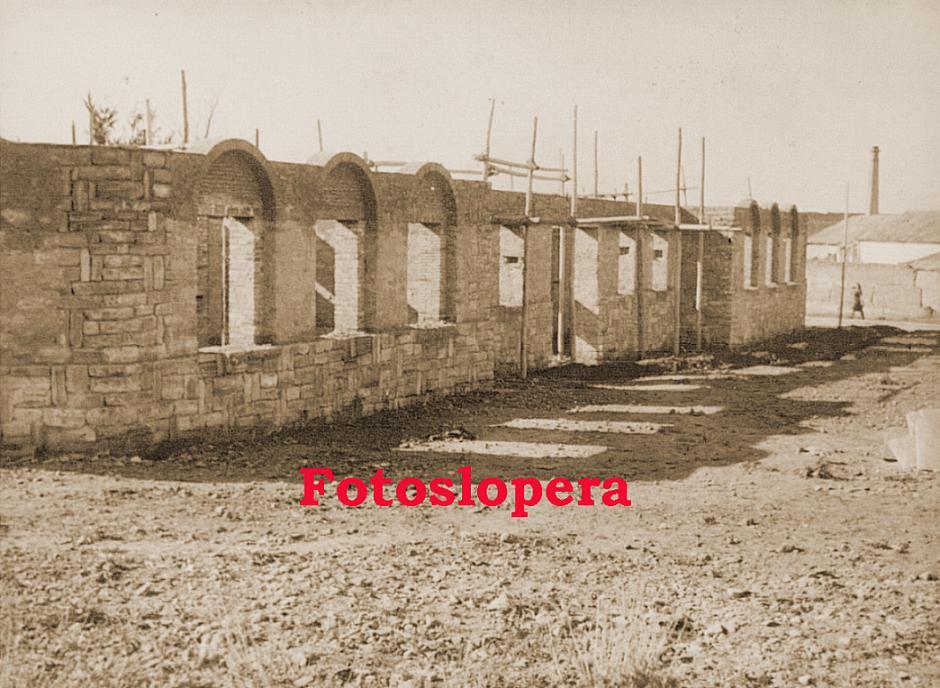 Levantamiento de nueva planta de la Casa Cuartel de la Guardia Civil de Lopera por la Empresa de Regiones Devastadas. Año 1942
