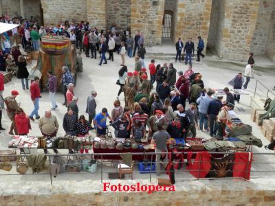 Buena acogida del Museo Vivo Batalla de Lopera en el castillo de Lopera