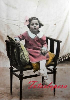 La Loperana Carmen Huertas de la Torre. Año 1910