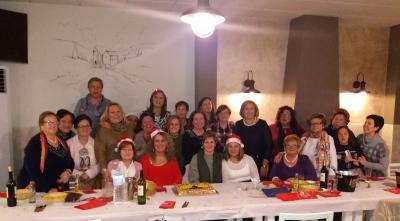 Cena de Navidad de la Asociación Cultural La Paz de Lopera