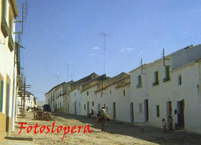Paseo matinal por el pasado de calles y plazas de Lopera. Hoy por la calle D. Manuel Casado. Año 1963