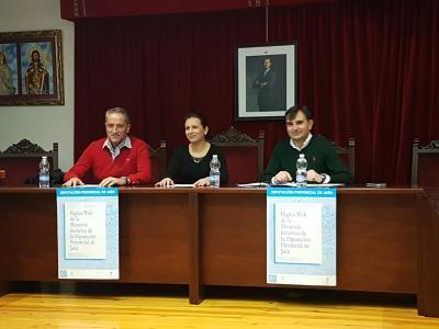 El Salón de Plenos del Ayuntamiento de Lopera acogió la Presentación de la Página Web de la Memoria Histórica de la Diputación Provincial de Jaén.